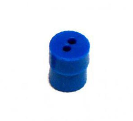 Otodynamics® Almohadilla 6,5mm (azul) OT065, 100 uds.