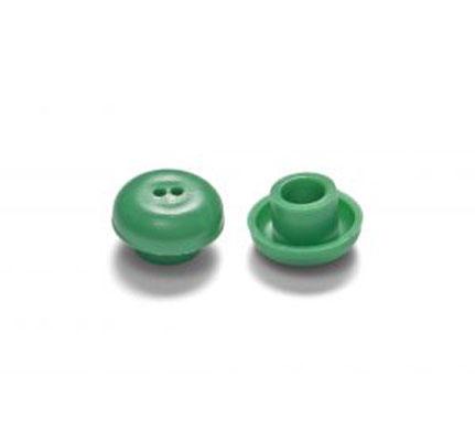 Otodynamics® Almohadilla 12mm (verde) OT212, 100 pcs